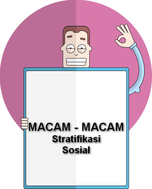 Jenis Stratifikasi Sosial : jenis, stratifikasi, sosial, Macam-Macam, Stratifikasi, Sosial, Materi, Belajar