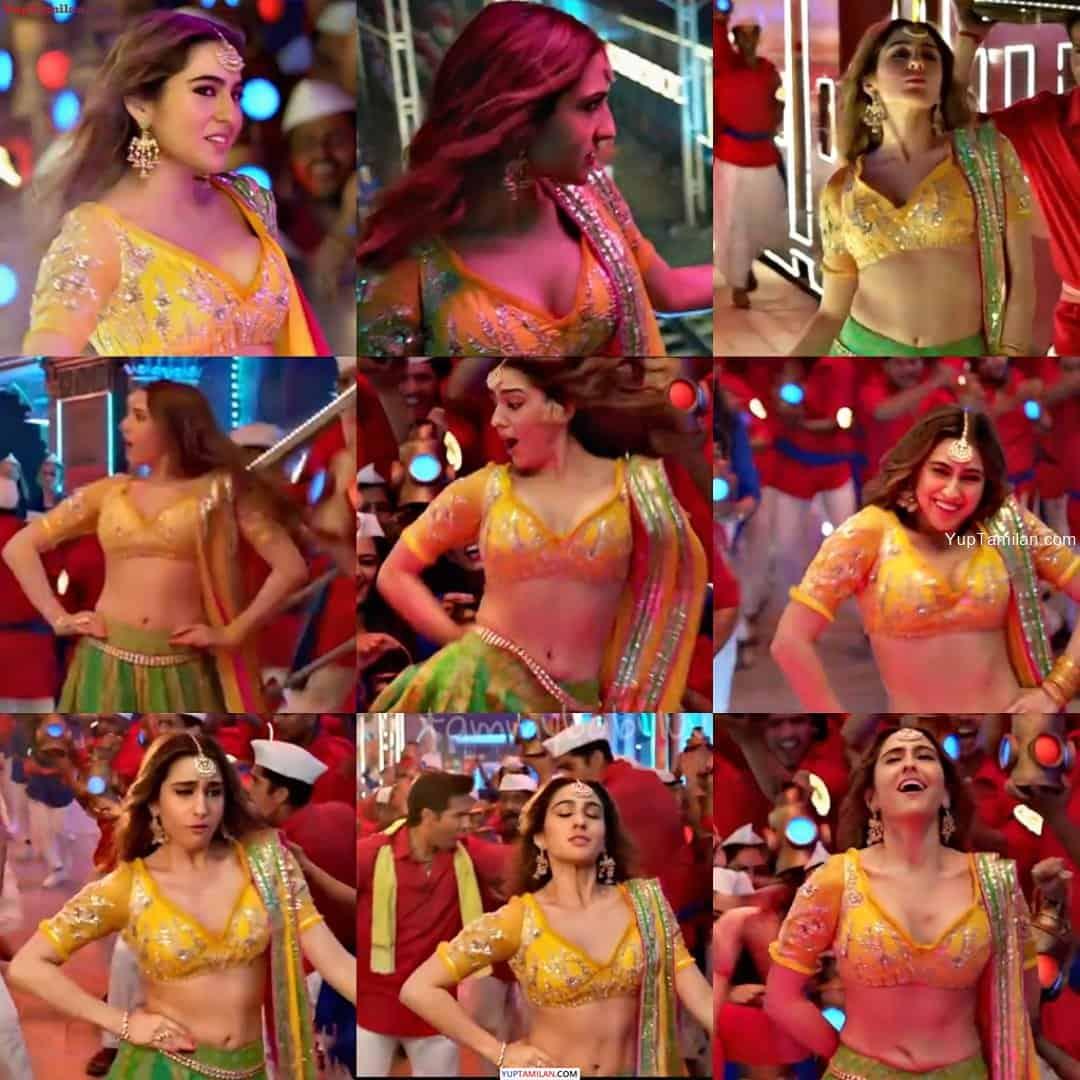 Sara Ali Khan Hot Navel Show