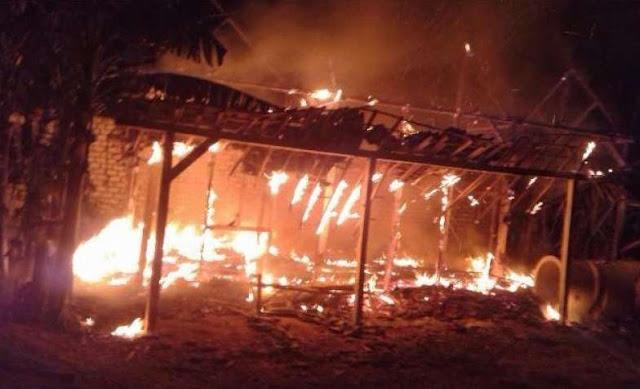 Rumah Terbakar, Seorang Bocah Ditemukan Tewas di Aceh Besar