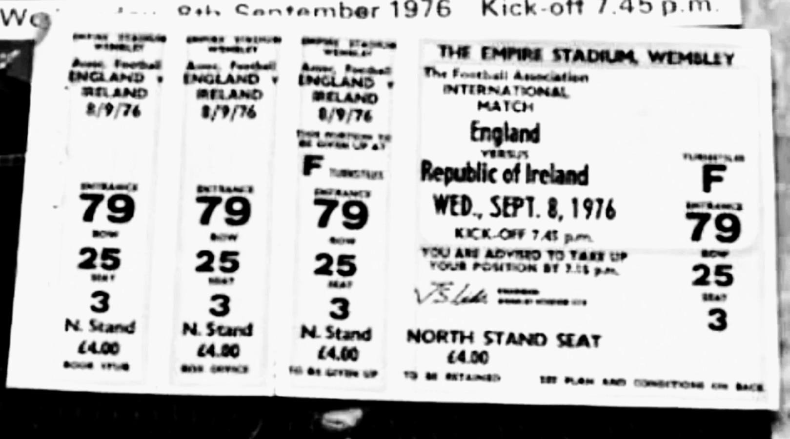 THE66POW: The Fanzine Files #7 England v Republic of ...