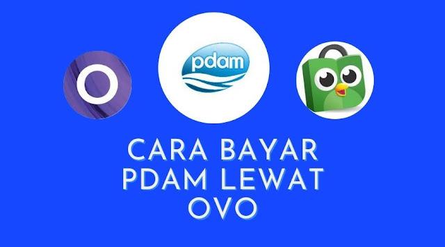 cara bayar PDAM lewat OVO