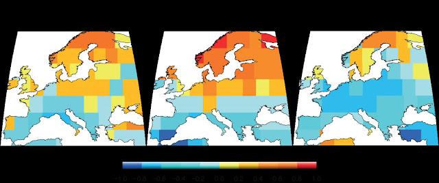 Twelve centuries of European summer droughts
