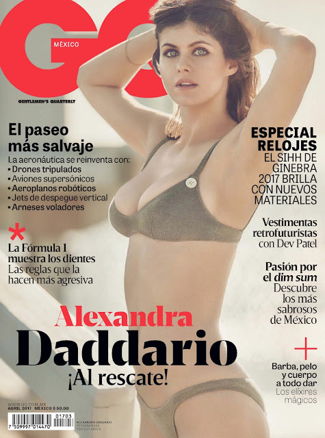 Alexandra Daddario GQ Abril 2017