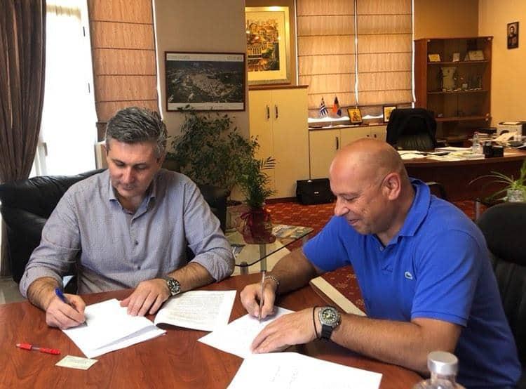 Υπεγράφη από το Δήμο Αρταίων η σύμβαση του έργου «Διευθέτηση Ρέματος Αμμοτόπου».