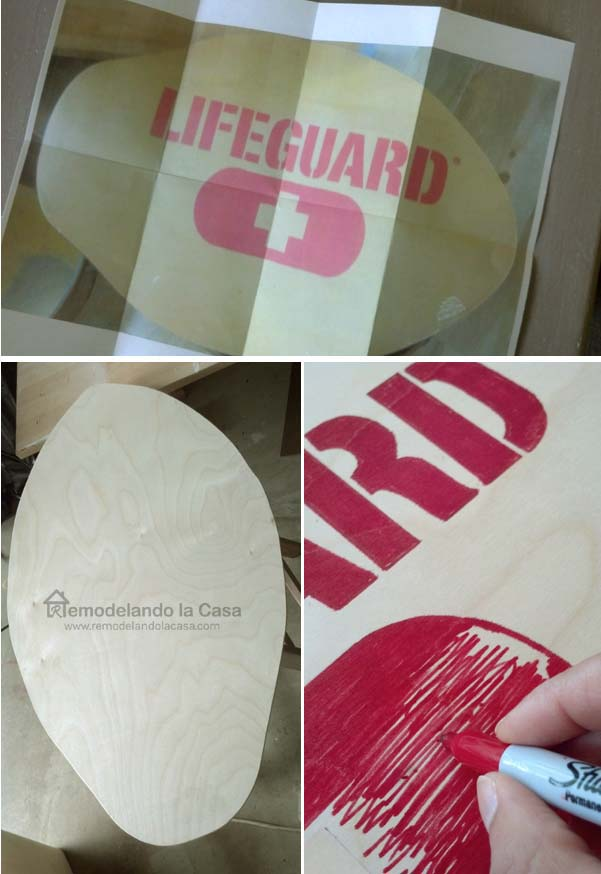 how to make a skim board knock off