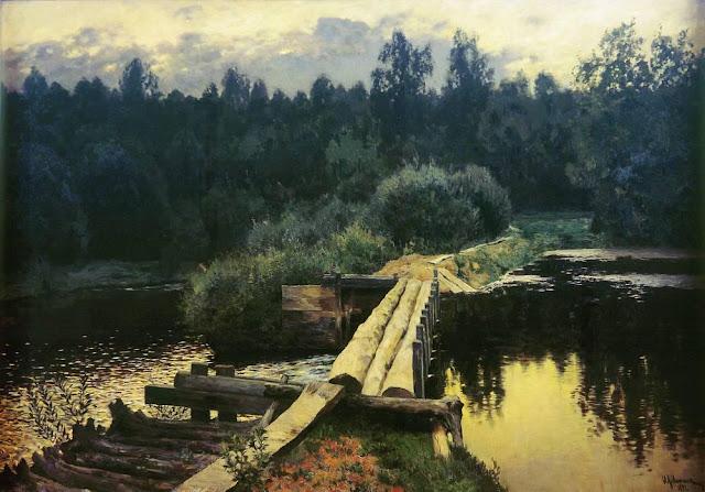 Исаак Ильич Левитан - У омута. 1892