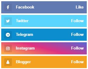 cara membuat follow us di blog