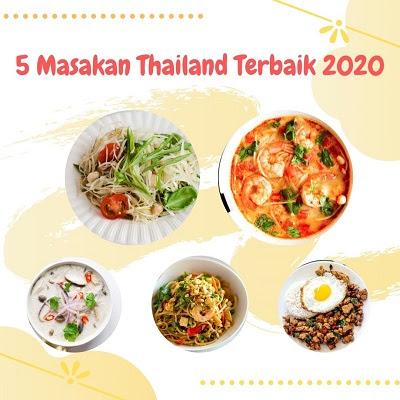 menu masakan thailand di yummy app