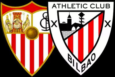 escudos de sevilla y athletic de bilbao