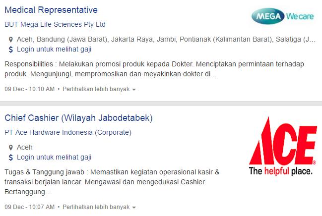 Lowongan Kerja Kota Banda Aceh Terbaru 2019
