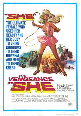 The Vengeance of She Poster