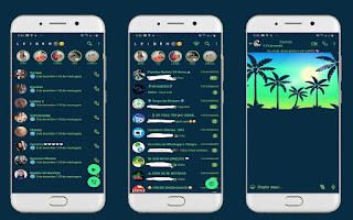Coconut Trees 2 Theme For YOWhatsApp & Fouad WhatsApp By Leidiane