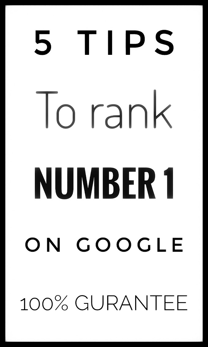 5 Important rules to rank your blog