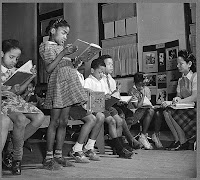 Negro schoolroom, Washington D.C.