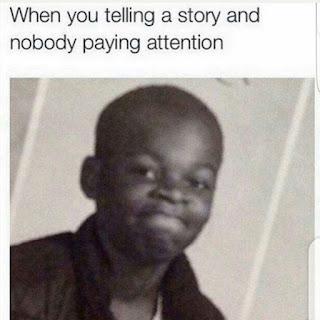Telling a Story Meme