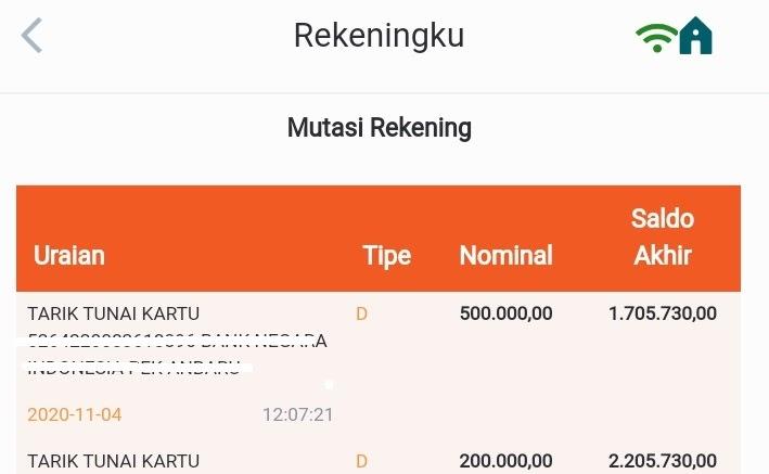 Cara Mudah Cek Mutasi Rekening Bni Di Bni Mobile Banking Pondoktekno Com