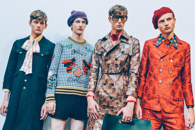 541622b7371fc Fashion Runway | Gucci Spring-Summer 2016 Milan Fashion Week | Cool ...