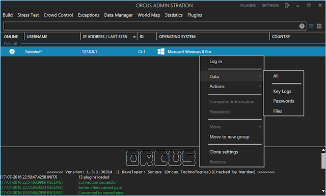 Orcus Version 1.3.1 Cracked
