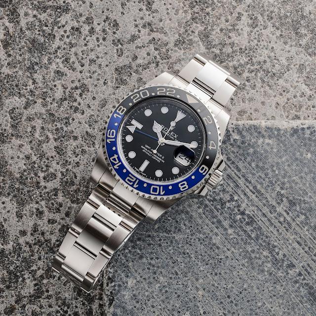 "Rolex GMT Master II ""Batman"" Ref. 116710BLNR"