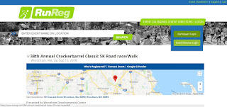 38th Annual Crackerbarrel Classic  5K Road Race