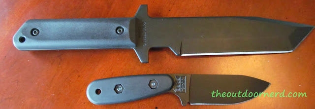 Ka-Bar Becker BK14 Eskabar Fixed Blade Knife With Cold Steel GI Tanto- Without Sheath