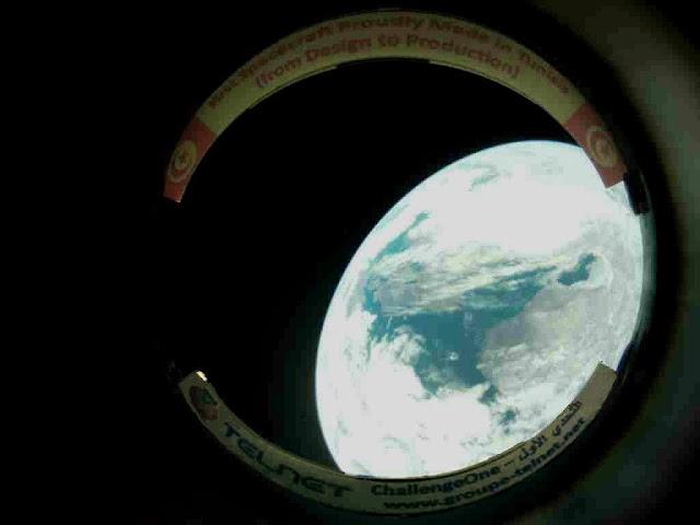 """Tunisie : Première image de la Terre prise par le satellite """" Challenge One """""""