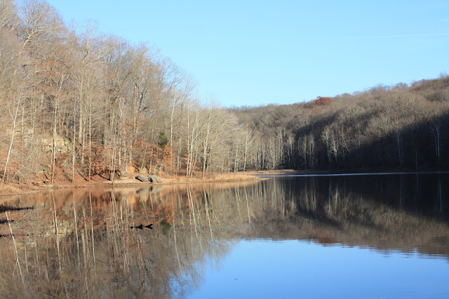 Springs Valley Lake in the Hoosier National Forest