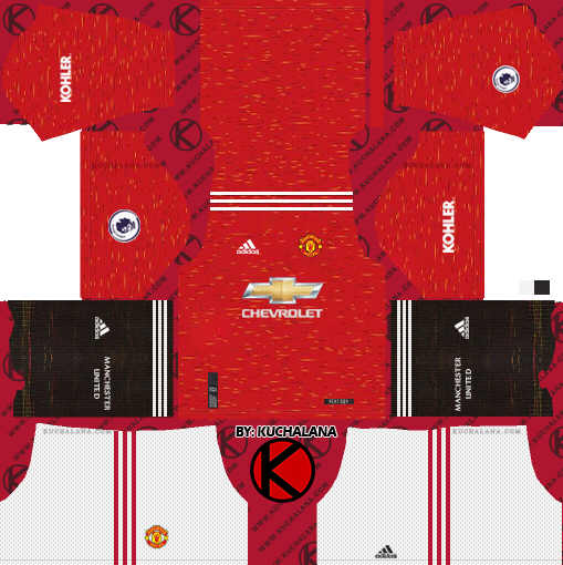 Manchester United 2020-21 Kit - DLS2019