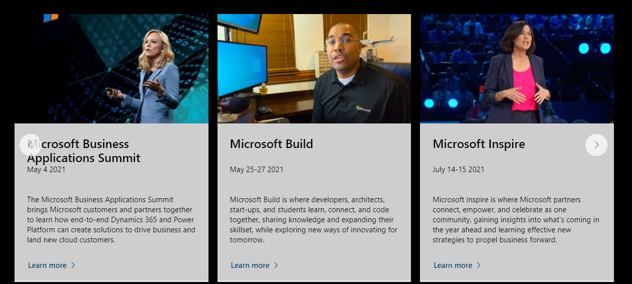 Microsoft Build Conference 2021 | Solo online dal 25 al 27 maggio