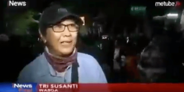 Tri Susanti Korlap Aksi yang Datangi Asrama Mahasiswa Papua di Surabaya Minta Maaf