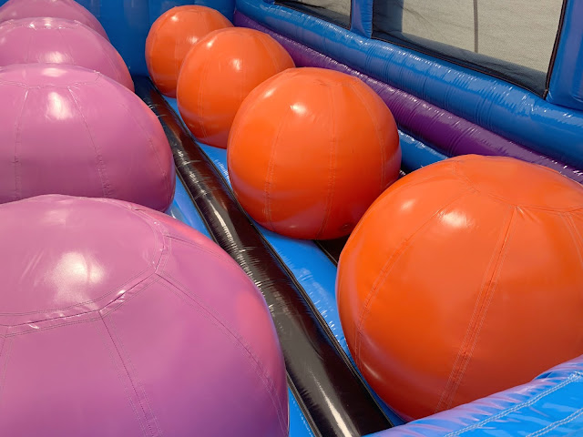 giant inflatable balls to jump on