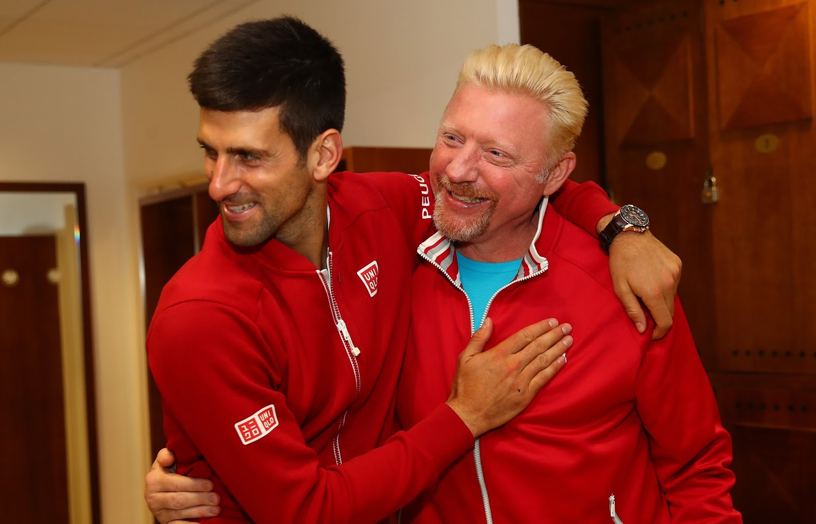 NOVAK DJOKOVIC, BORIS BECKER 7