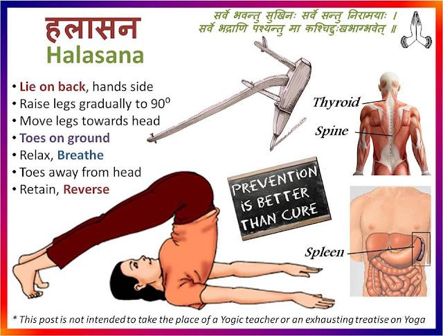 Yoga-Halasana