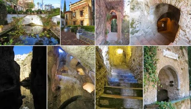 One Week in Malaga in December: Water Mine at La Casa del Rey Moro in Ronda, Spain