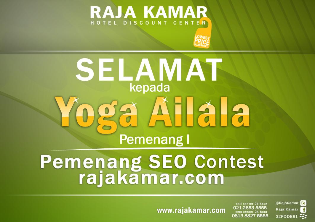 Pemenang Juara 1 Kontes SEO Rajakamar Indonesia