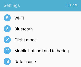 Hotspot & Tethering Settings
