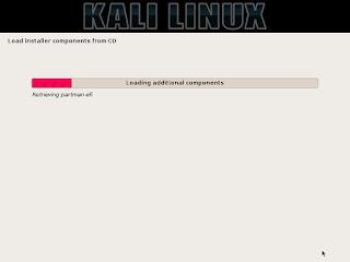 tahap konfigurasi kali linux