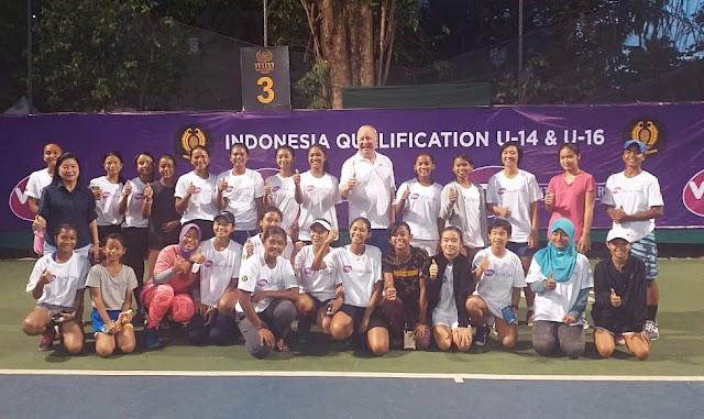 WTA FUTURE STARS - Indonesia Qualification: Kholisa Melaju ke Semifinal