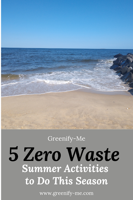 Zero Waste Summer Activities