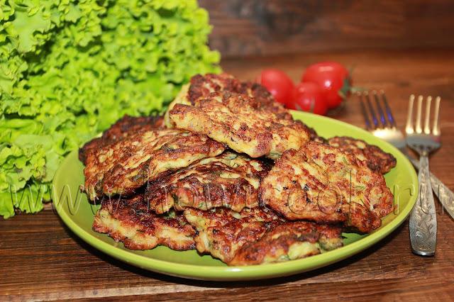 рецепт куриных котлет с кабачком