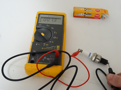 How to test spark plug with multimeter to see if is it is good or bad