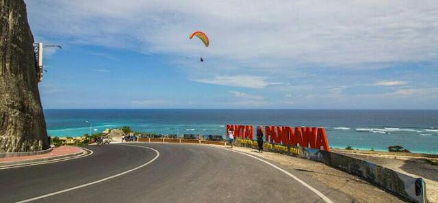 Wisata baru di Bali pantai pandawa, secret beach