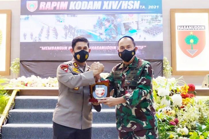 Sinergitas TNI-Polri Dalam Penanganam Pandemi Covid 19