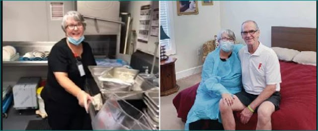 अस्पताल में एडमिट पति से मिलने के लिए पत्नी वही पर करने लगी बर्तन धोने की नौकरी