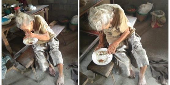 90 year old na lola pinagkakasya ang kaunting ulam sa ilang araw para makaraos sa kagutuman, dinagsa ng tulong