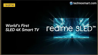 Realme SLED 4K Smart TV Is Set To Launch In India Soon With 55-Inch Screen Size