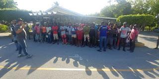 Ejército y la Dirección General de Migración detienen haitianos durante operativos