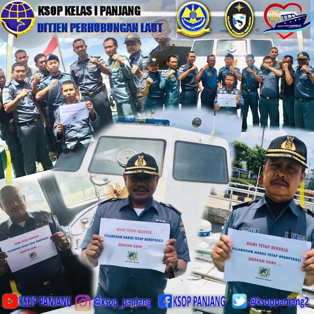 Viral Petang (29/03/2020) Bandar Lampung --- Merebaknya badai COVID-19 pihaknya terus melaksanakan pencegahan penyebaran virus COVID-19
