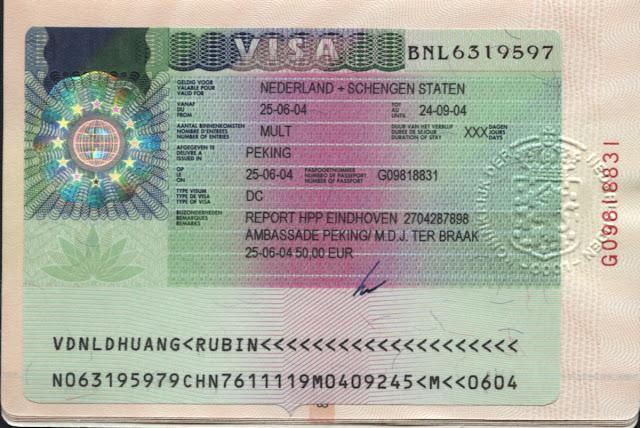 الاوراق و الوثائـق اللازمة لملف لطلب تأشيرة بفرنسا