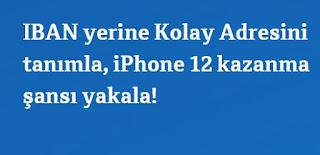 Kolay Adres Tanımla Iphone 12 Kazan